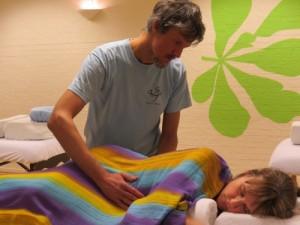 Bolle Buiken Massage, rug en buik pulsing