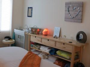 Praktijkruimte van Rustpunt Massages